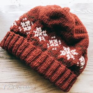 編み物(帽子)01