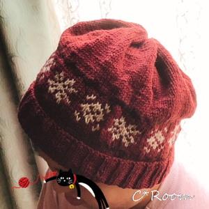 編み物(帽子)02