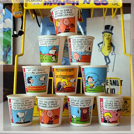 スヌーピーバスルームカップ