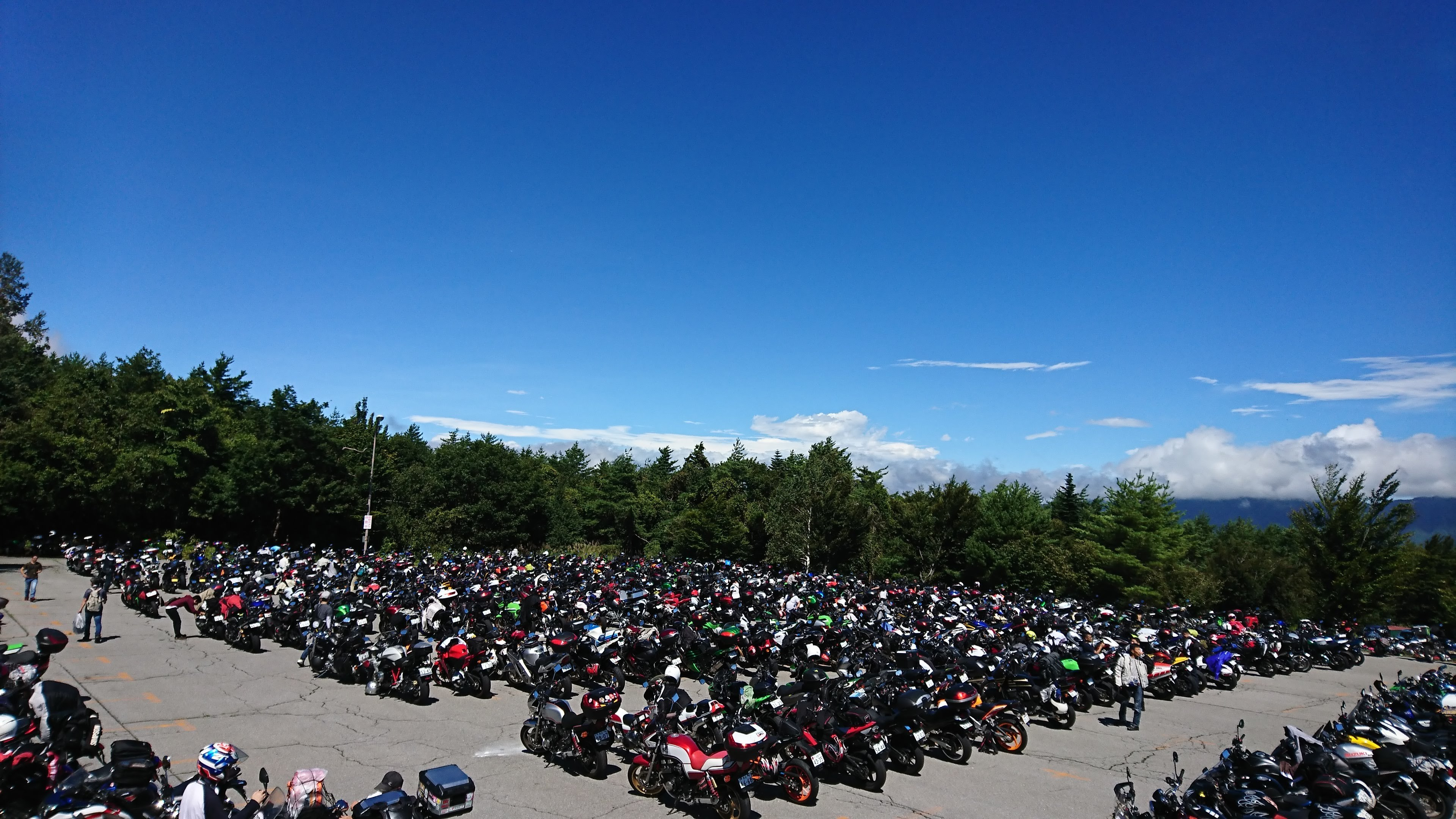 バイク駐車場1