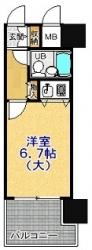 朝日プラザアルファポート神戸206