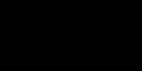 手書き飾りリボン黒