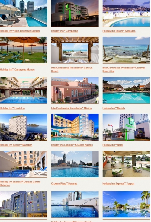 IHGリワードクラブ メキシコ、ラテンアメリカ、カリブ海を対象にポイントでの無料宿泊が50%OFF