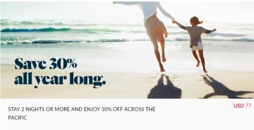 アコー・ホテル アジア太平洋で40%OFF