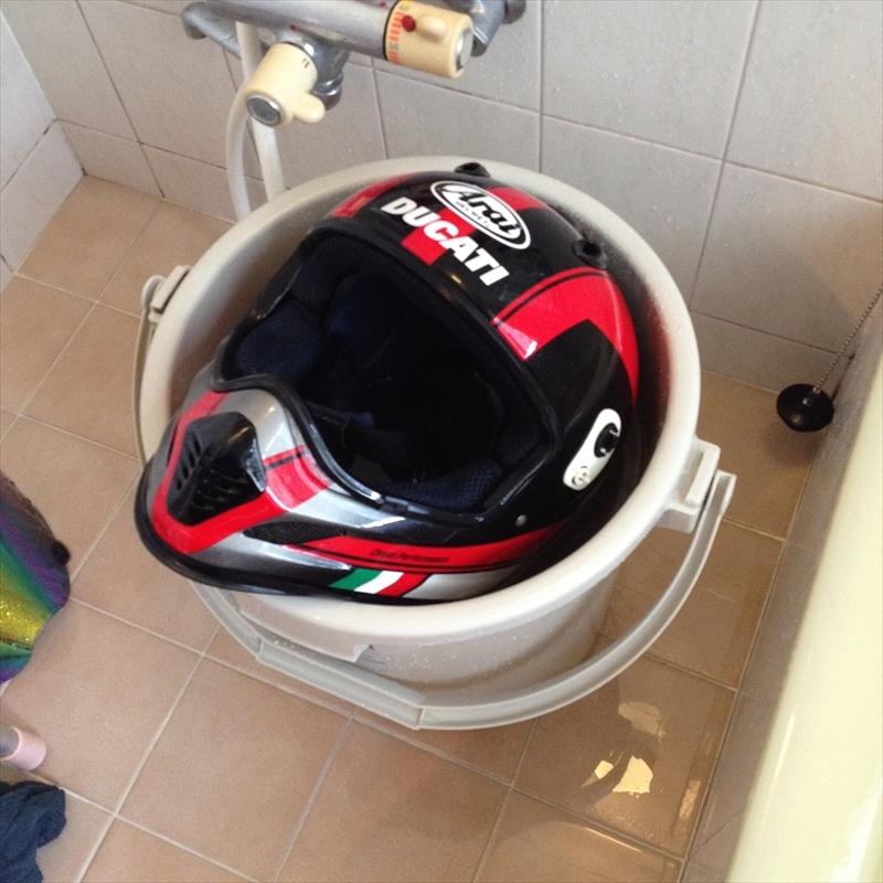 ヘルメット丸洗い003
