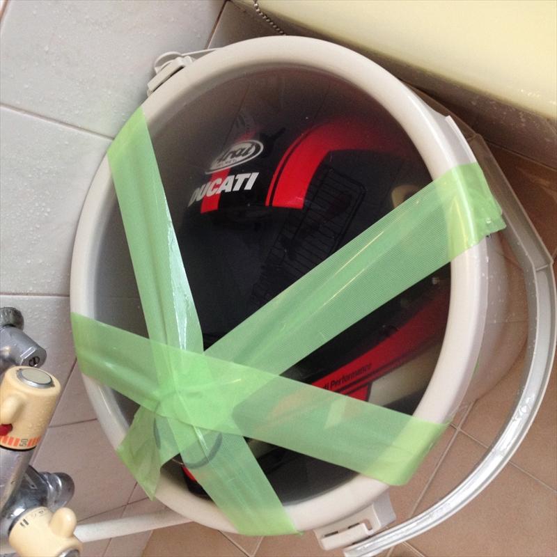ヘルメット丸洗い004