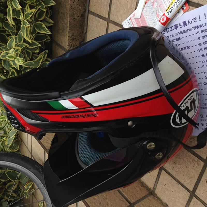 ヘルメット丸洗い005