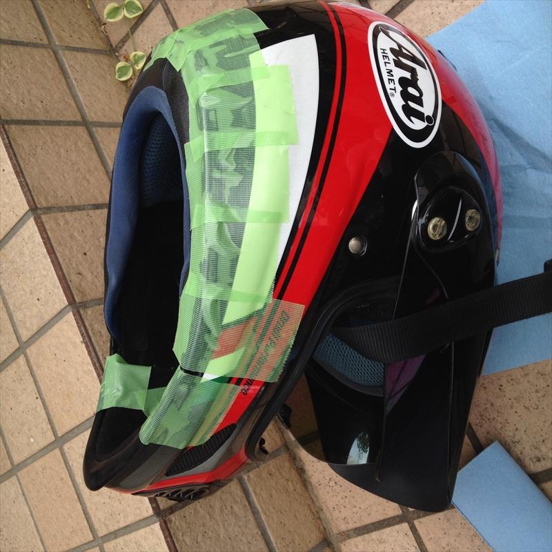 ヘルメット丸洗い006