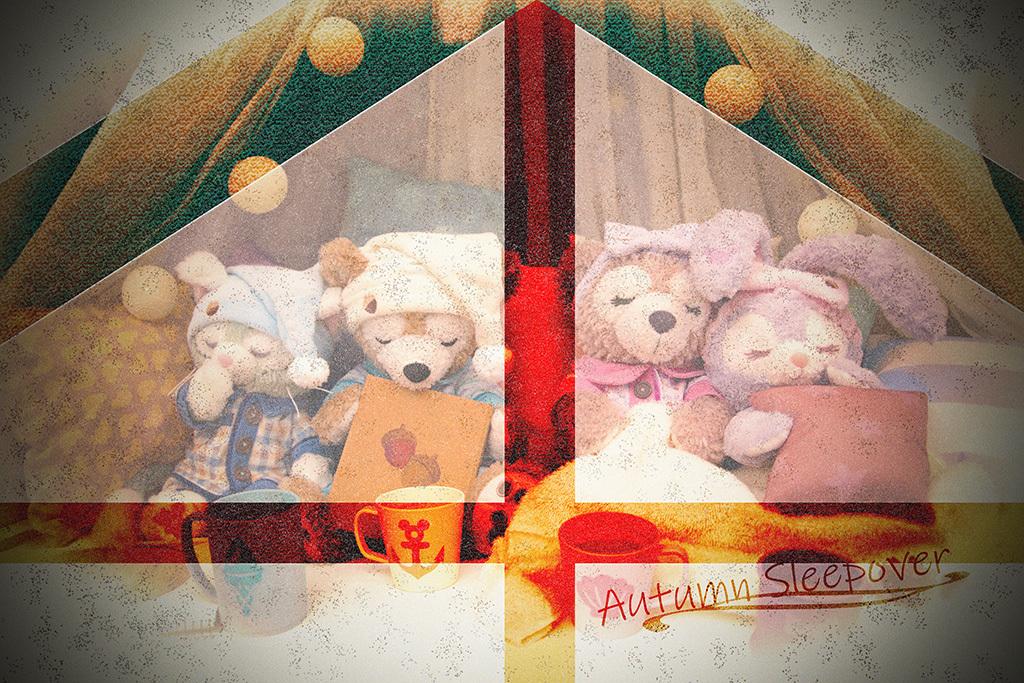 Autumn Sleepover/ショーウィンドウ1
