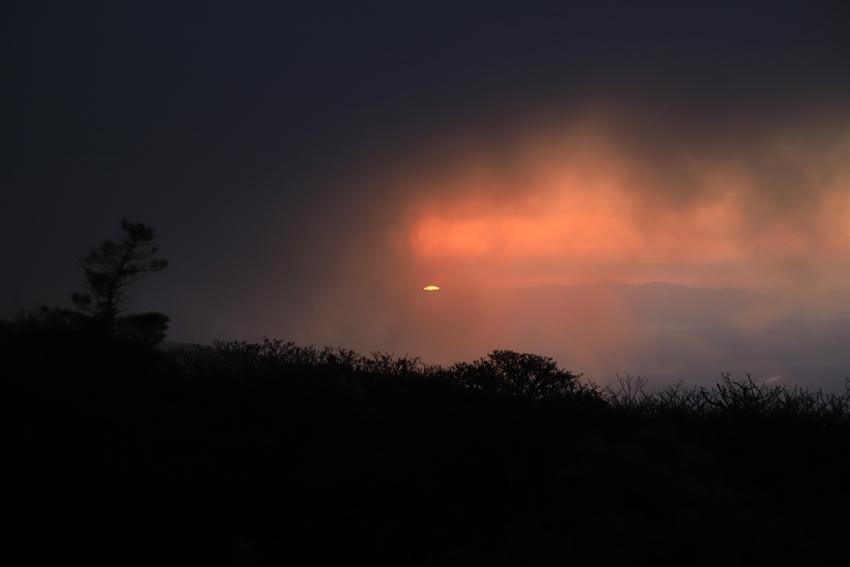 20181008昇る朝陽