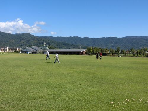 吉野ケ里公園、初めての北の広場。
