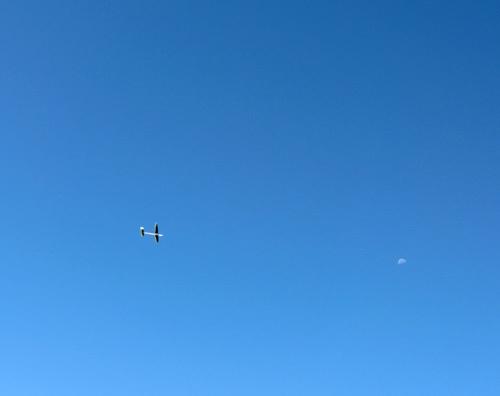 自由機、練習中。
