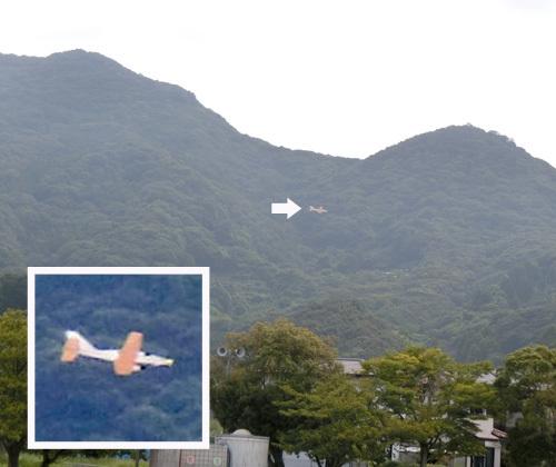 N-951、飛んでるトコ。 その1。
