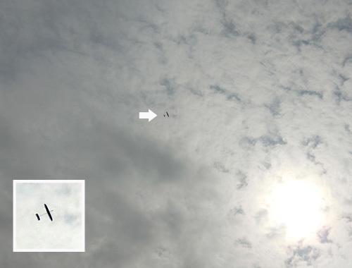 ケントウン14、飛んでるトコ。 その3。