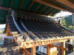 浄土寺復興工事 山門10