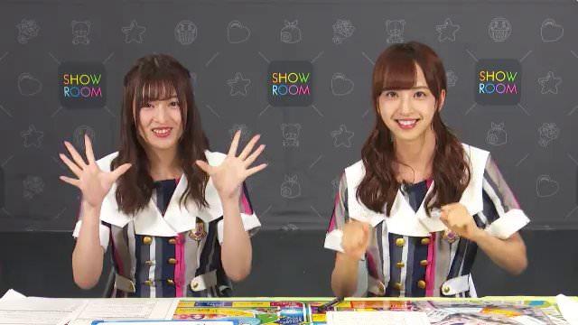 乃木坂46「猫舌SHOWROOM」 吉田綾乃クリスティー 佐藤楓