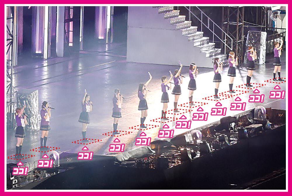 乃木坂46「全ツ2018いただき!キャンペーン」 ライブステージ上マット