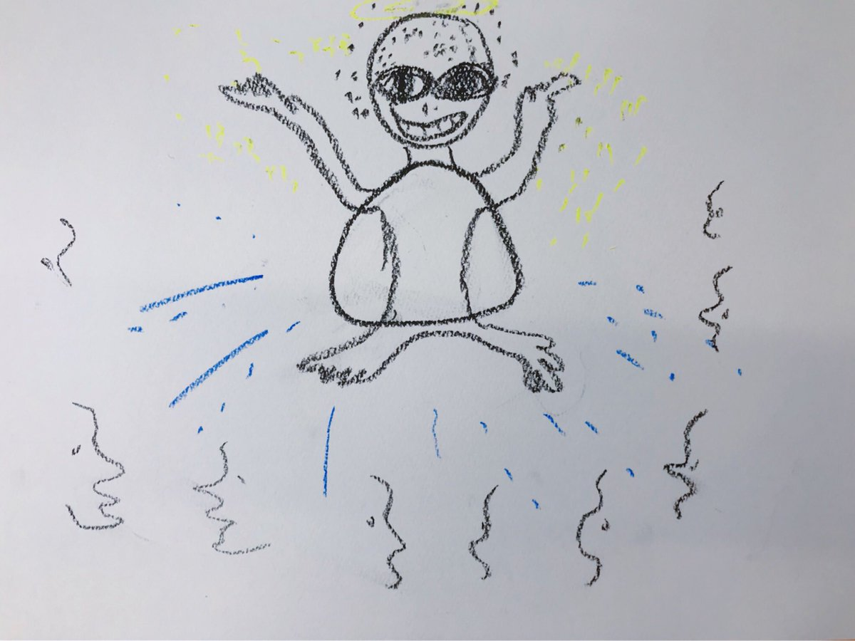 乃木坂46阪口珠美が描いた「桜井玲香イメージしたキャラクター」