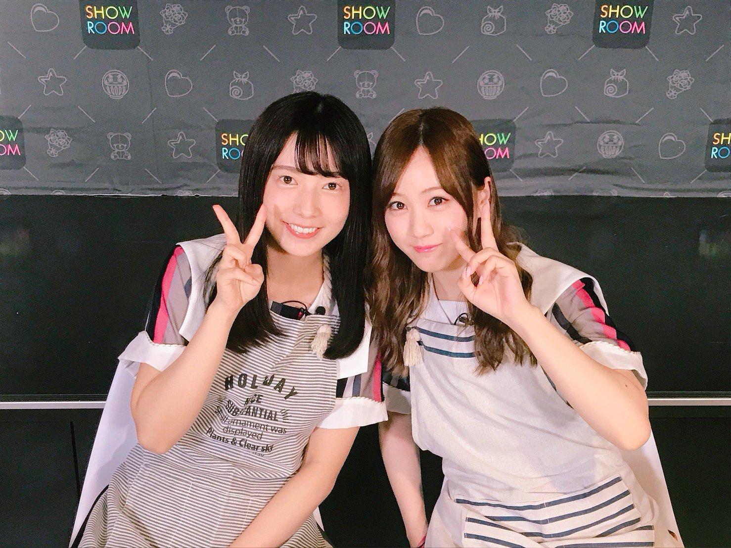 乃木坂46「猫舌SHOWROOM」斉藤優里&星野みなみ