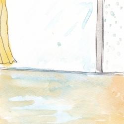 いもあられ@2階がプール?