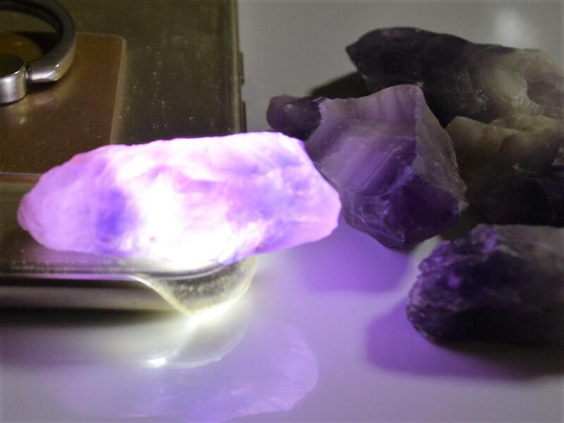 ムラサキ水晶