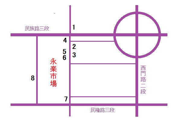 台南小吃地図3