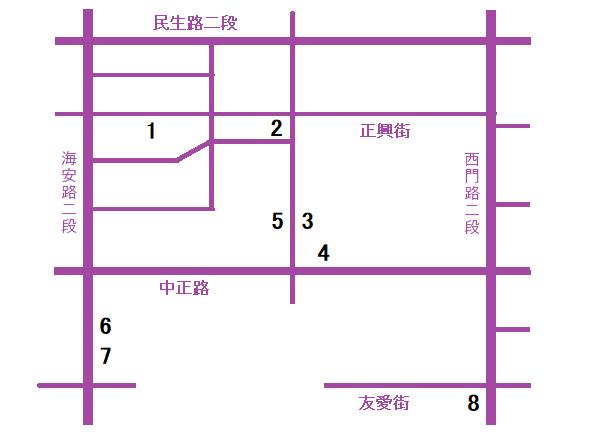 台南小吃地図4