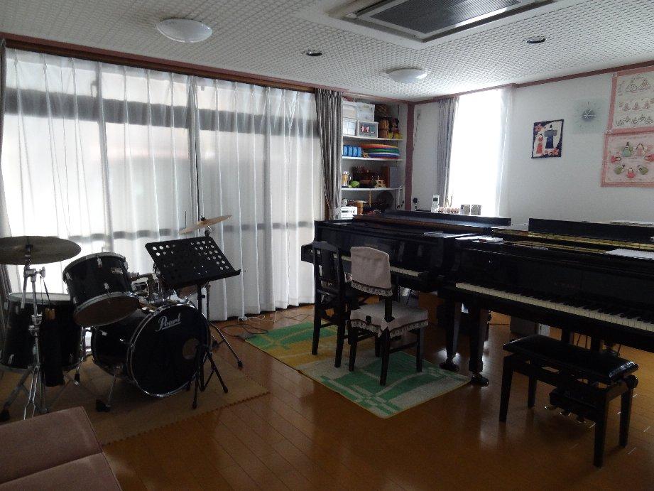 アルペジオミュージックスクール レッスン室