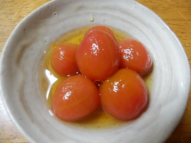 プチトマトのだし浸し_2