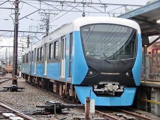 長沼駅ホームに留置されていたA3001F