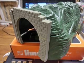limaのトンネル 組立後