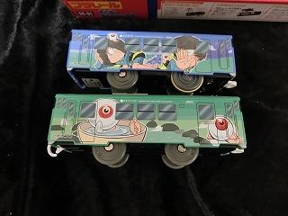 プラレール「SC-01 鬼太郎&目玉おやじ列車」 側面
