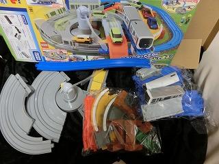7~9月のリサイクル戦利品 ⑤ 「ダブルループ橋レールセット」