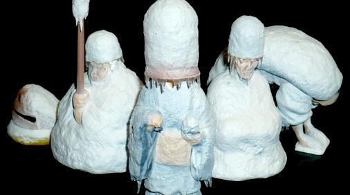 パンダの穴シリーズ 氷河期の僧侶