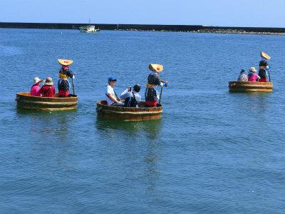 佐渡ヶ島たらい舟