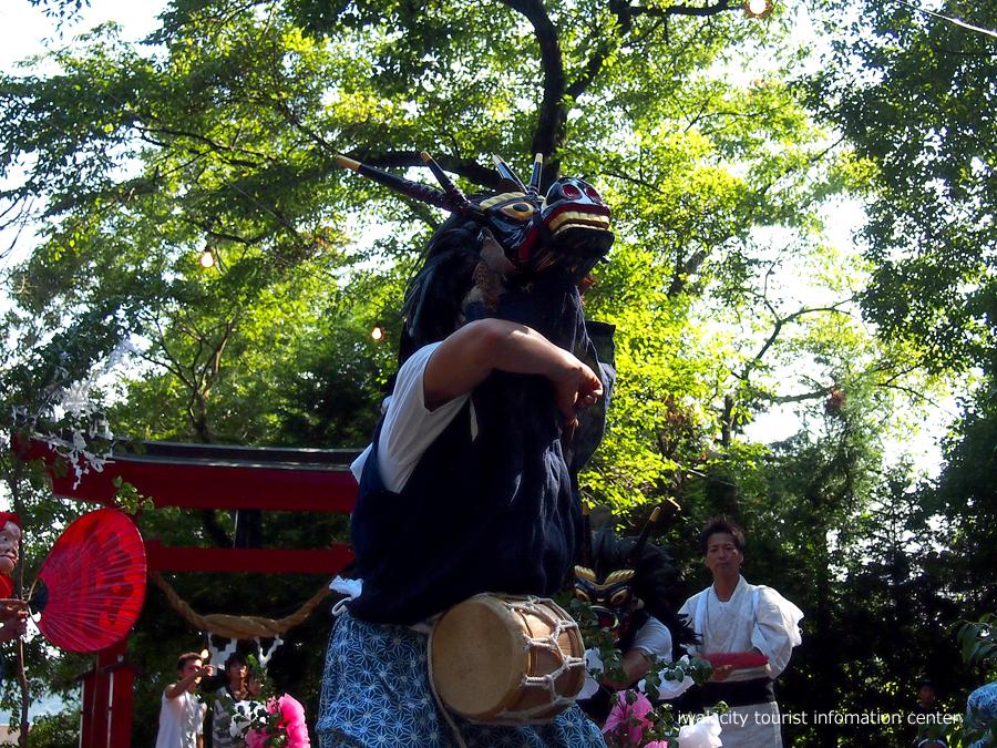 赤井諏訪神社例大祭にて山外舞が奉納されます! [平成30年8月20日(月)更新]3