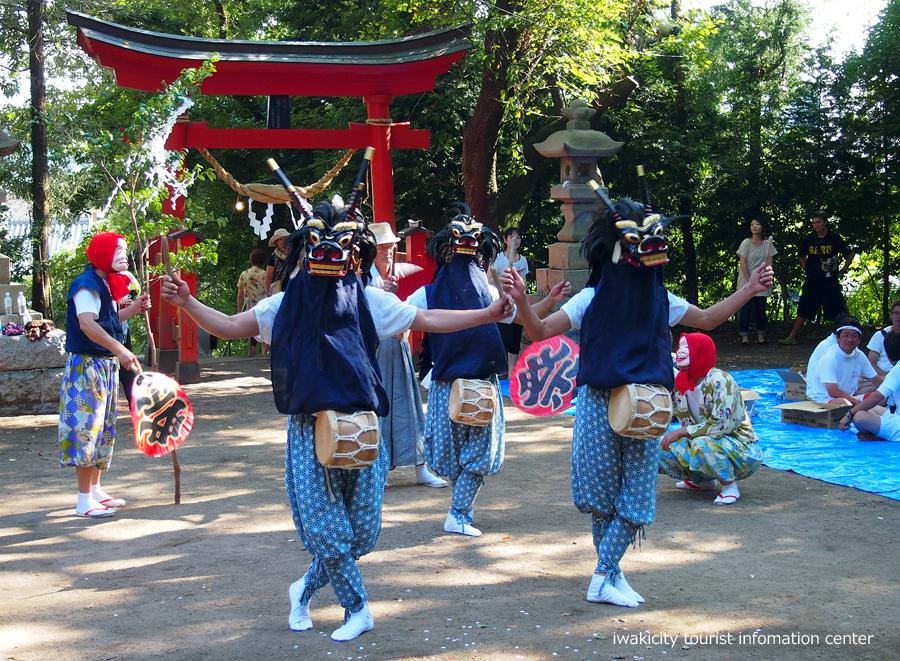 赤井諏訪神社例大祭にて山外舞が奉納されます! [平成30年8月20日(月)更新]2