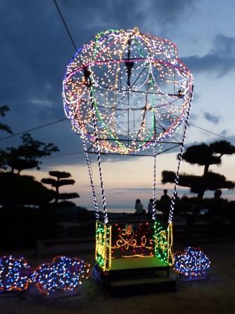 光のおもてなし in 松山城 11