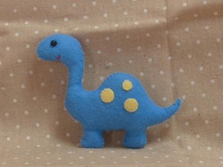 フェルトのマスコット 恐竜 1