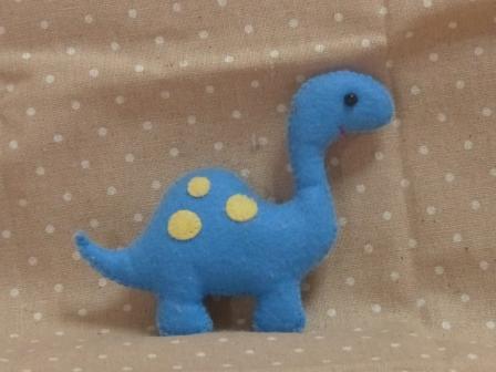 フェルトのマスコット 恐竜 2