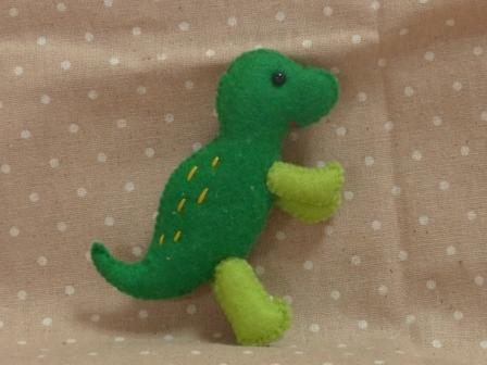 フェルトのマスコット 恐竜 4