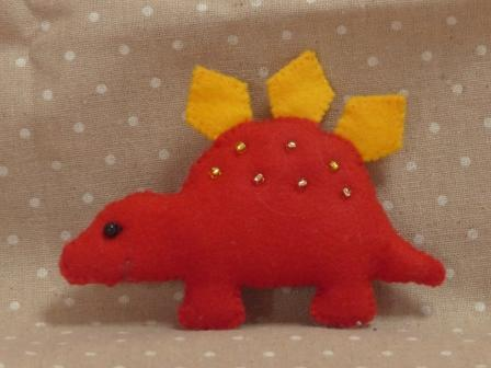 フェルトのマスコット 恐竜 5