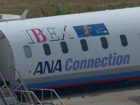 アイベックスエアラインズの飛行機 2