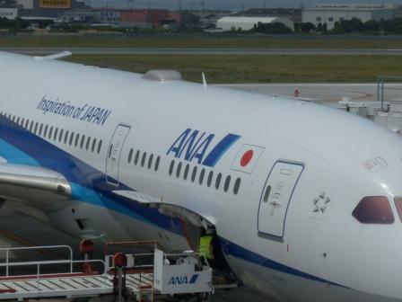 ANA の飛行機 1