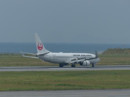 JAL の飛行機 1
