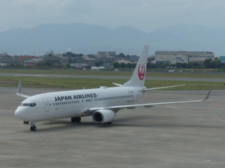JAL の飛行機 2