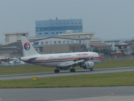 中国東方航空 の飛行機 1
