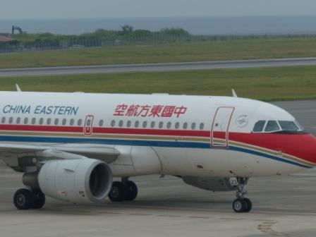 中国東方航空 の飛行機 4