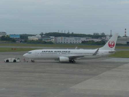 JAL の飛行機 3