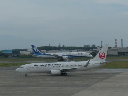 ANA & JAL の飛行機 2